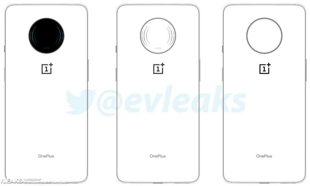 OnePlus 7T leaked design