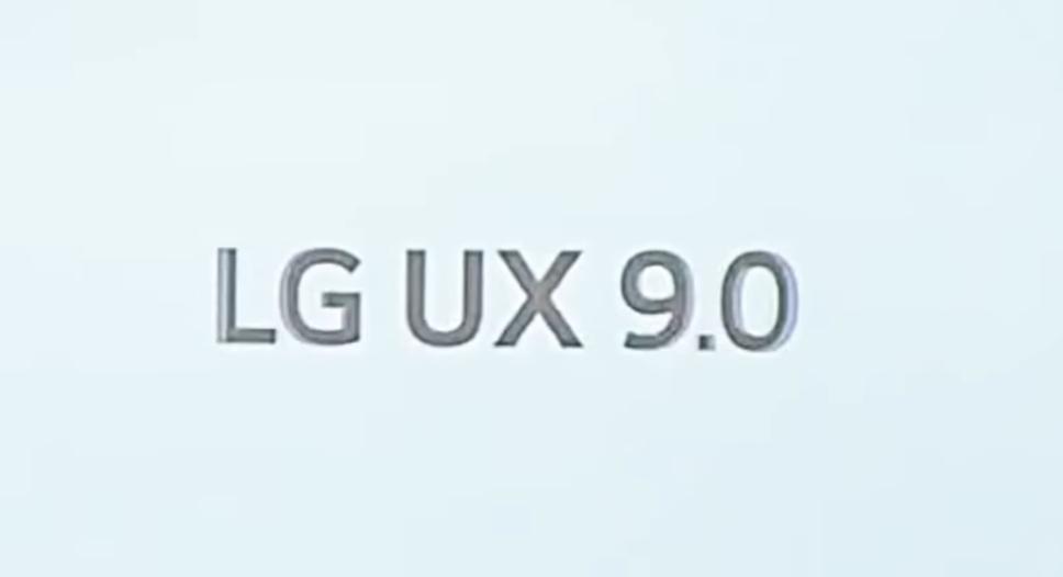 LG UX 9.0 new user interface for lg g8x thinkQ