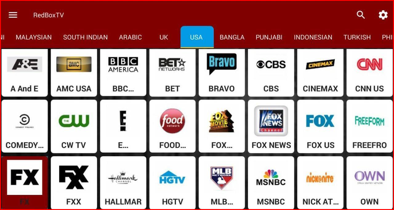 free live tv streaming app for android