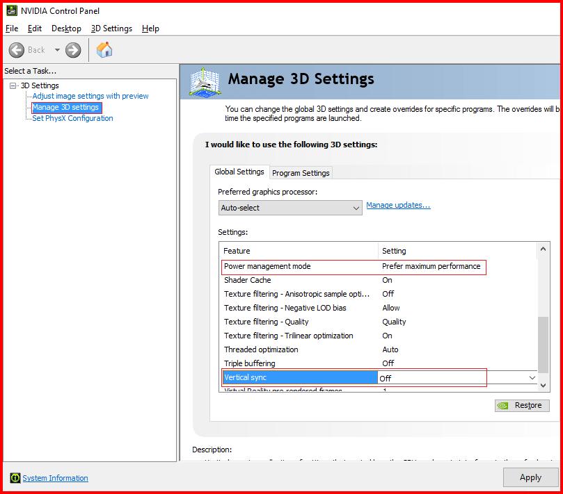 fix Nvidia driver crash nvidia control panel