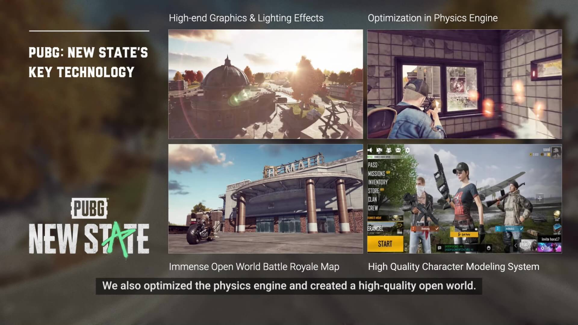 Pubg New State Features
