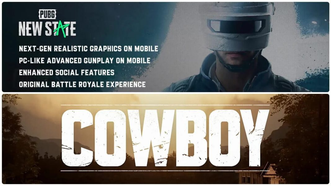 Pubg CowBoy and New State