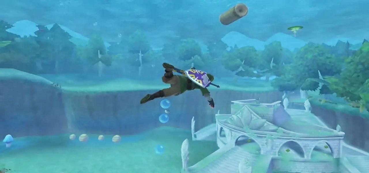 How to Unlock Diving Underwater in Legend of Zelda Skyward Sword HD