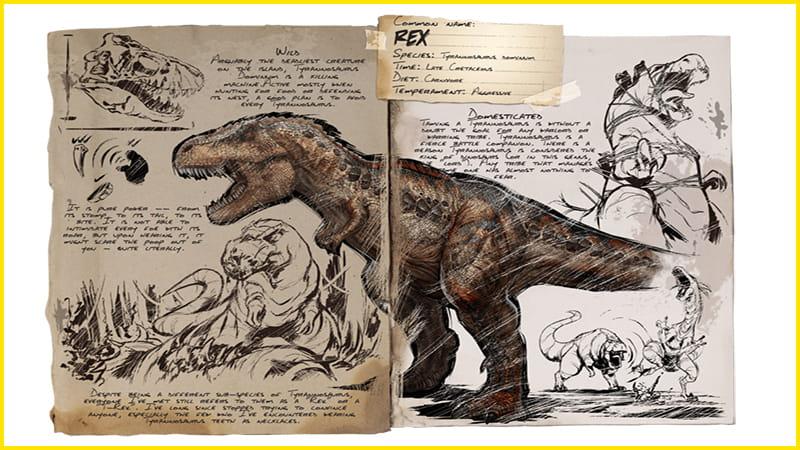 Dossier_Rex Ark Survived Evolved