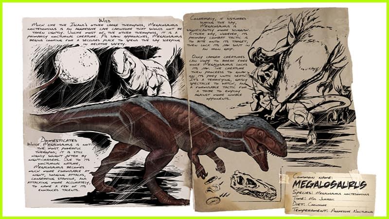 Megalosaurus Ark Survived Evolved