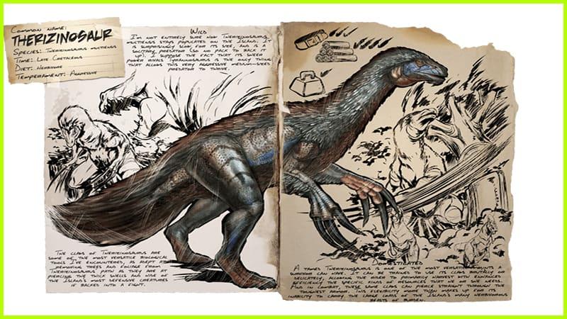 Therizinosaur Ark Survived Evolved
