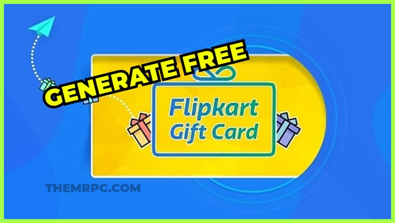 Flipkart Gift Card Generator